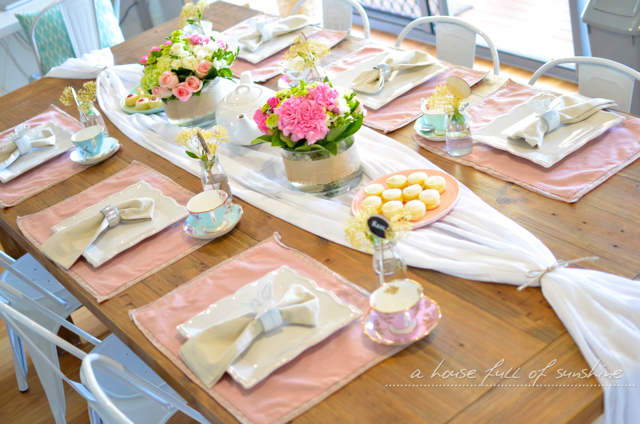 Save. To create this table setting ... & How to decorate a sweet high tea table with fresh flowers | A House ...