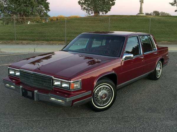 Daily Turismo: One Owner: 1986 Cadillac DeVille Sedan