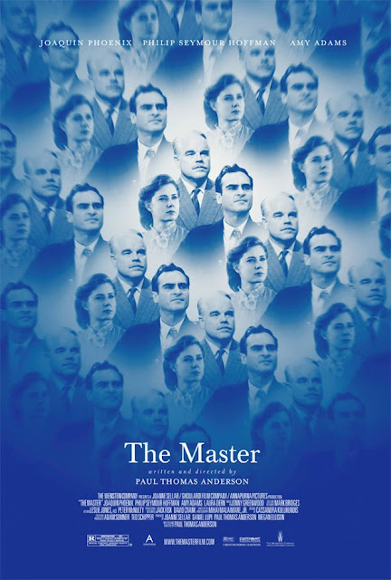 The Master, Directed by Paul Thomas Anderson, starring Joaquin Phoenix, Amy Adams and Philip Seymour Hoffman