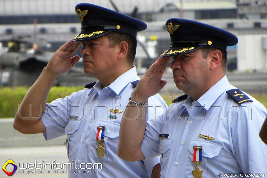 Coronel Carrascal Fuerza Aerea