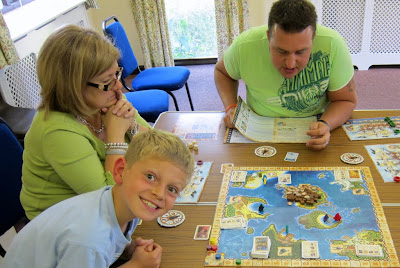 Players during a game of Pirate Cove