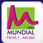 ouvir a Rádio Mundial FM 95,7 Jundiaí SP