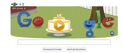 Google Doodle Birthday Yang Ke-15 Dengan Permainan Pinata Game