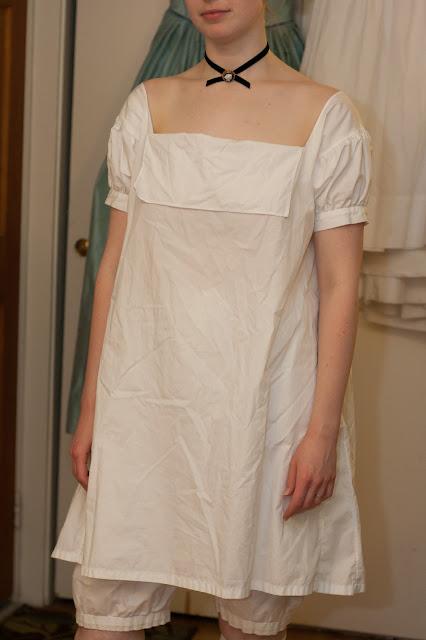 1830s chemise