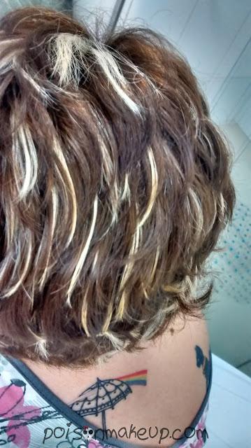 resultado do cabelo seco apos a coloracao