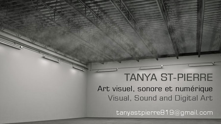 Tanya St-Pierre - visual and media arts