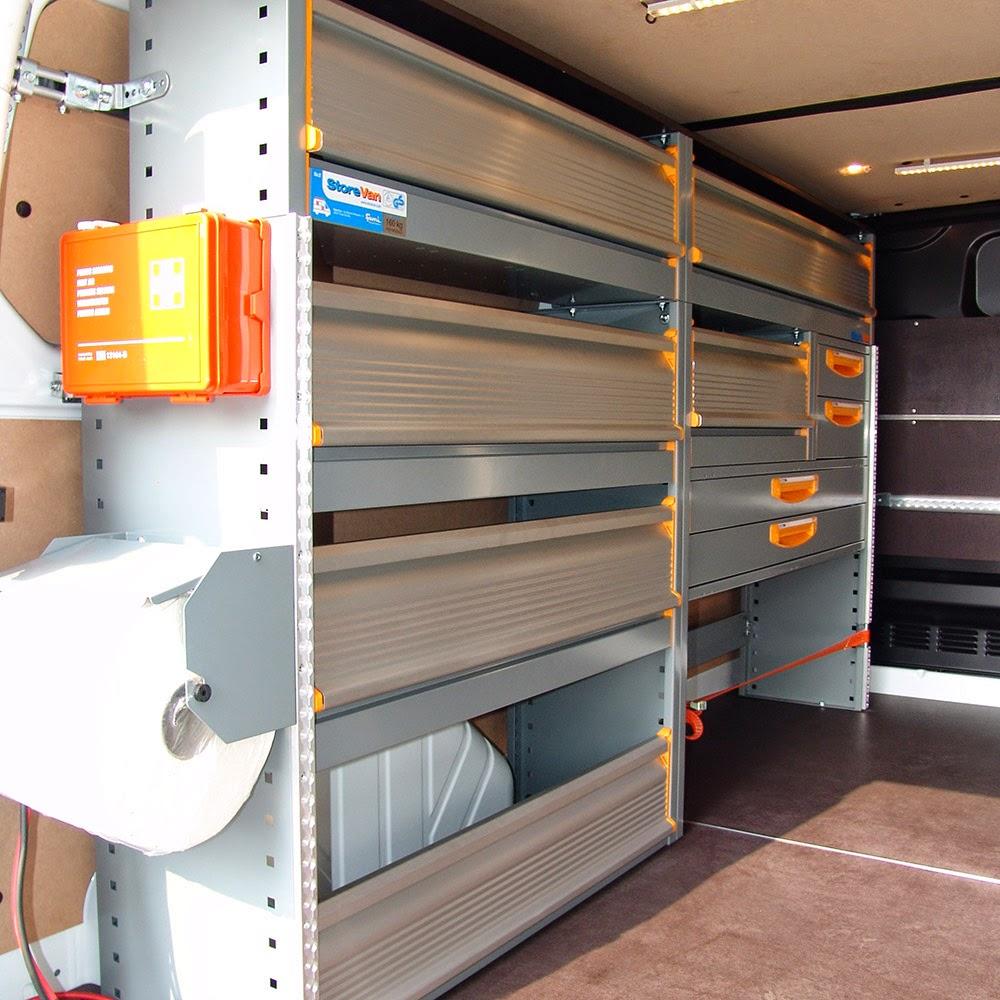 fahrzeugeinrichtung storevan noch ein ford transit custom. Black Bedroom Furniture Sets. Home Design Ideas