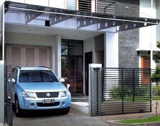 model rumah minimalis ada garasi mobil