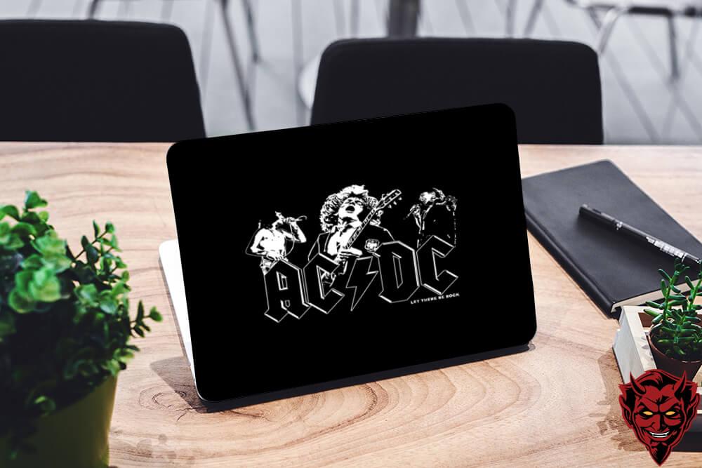 AC DC Laptop Skin