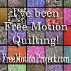 Free Motion Quilting is fun!