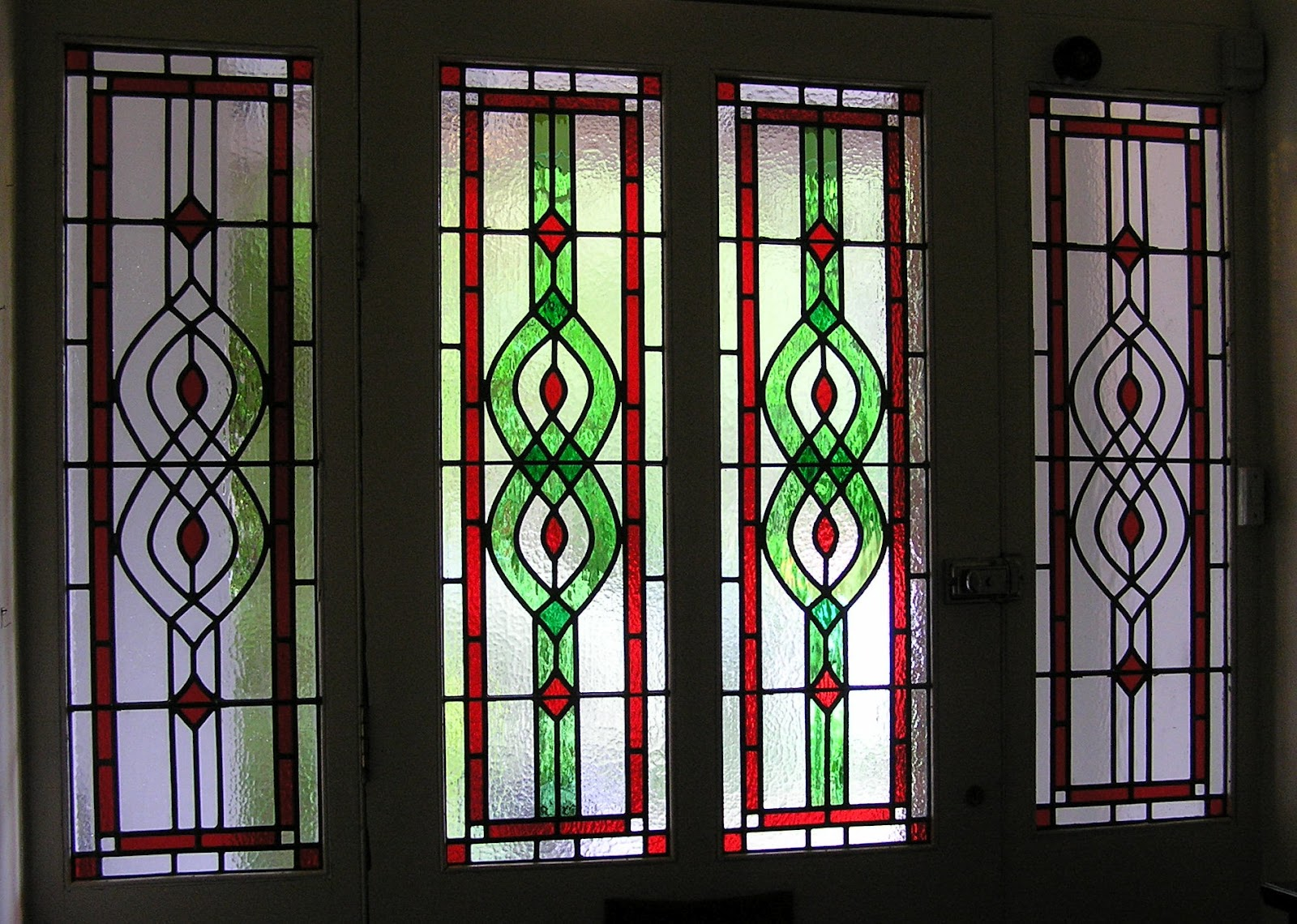 Stained glass for london and south east this new set of 4 leaded door panels were commissioned to replace earlier imitation stained glass panels our client suggested using the existing wrought eventelaan Gallery