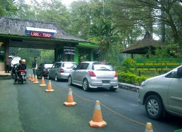 Harga Tiket Masuk Gunung Tangkuban Perahu Juni 2014