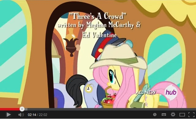 My Little Pony: Friendship is Magic - Three's a Crowd