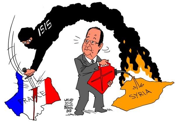 TEHRAN (FNA)- A string of coordinated terrorist attacks in and around the French capital of Paris left 153 people dead and some 200 others injured on Friday. And Parisians are now asking who created ISIL and what the extremist group is doing in Paris. [Cartoon]