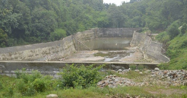 Incomplete Drinking Water Project in ‎Mirik