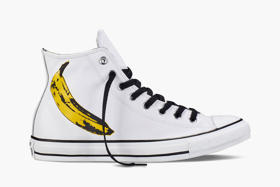 Disappear Here Converse Andy Warhol Chuck Taylor High