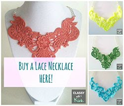 Want a Lace Necklace??
