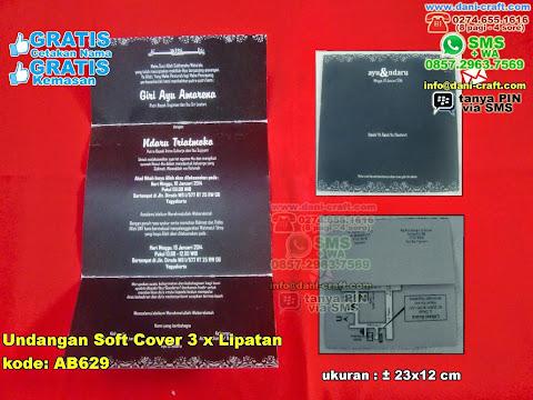 Undangan Soft CoverX Lipatan