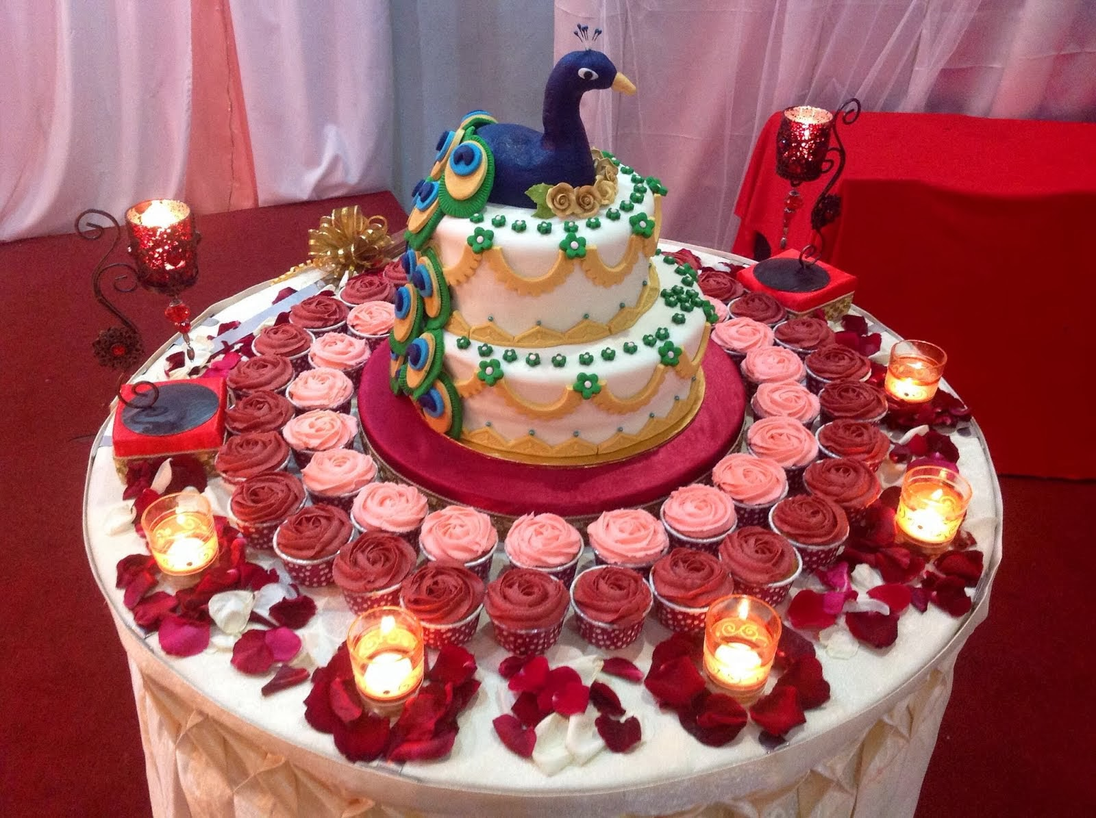 37 Creative Wedding Cake Table Decorations | Table ...