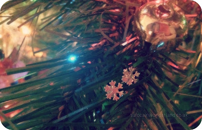 christmas snowflake jewellery