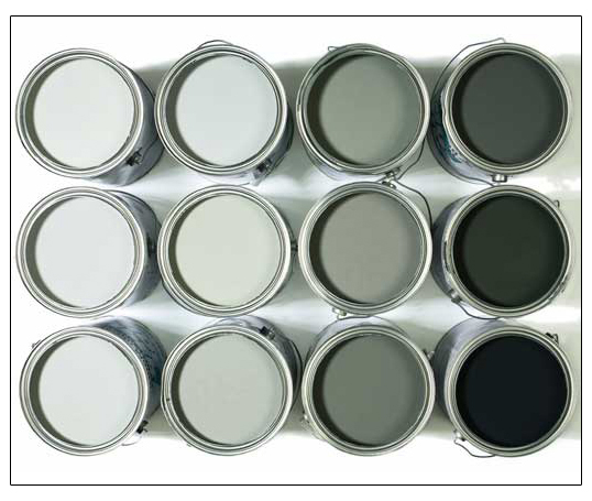 Shabou 50 shades of gray Shades of grey interior paint