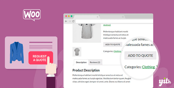 WooCommerce Request A Quote v1.2.3 – YITH