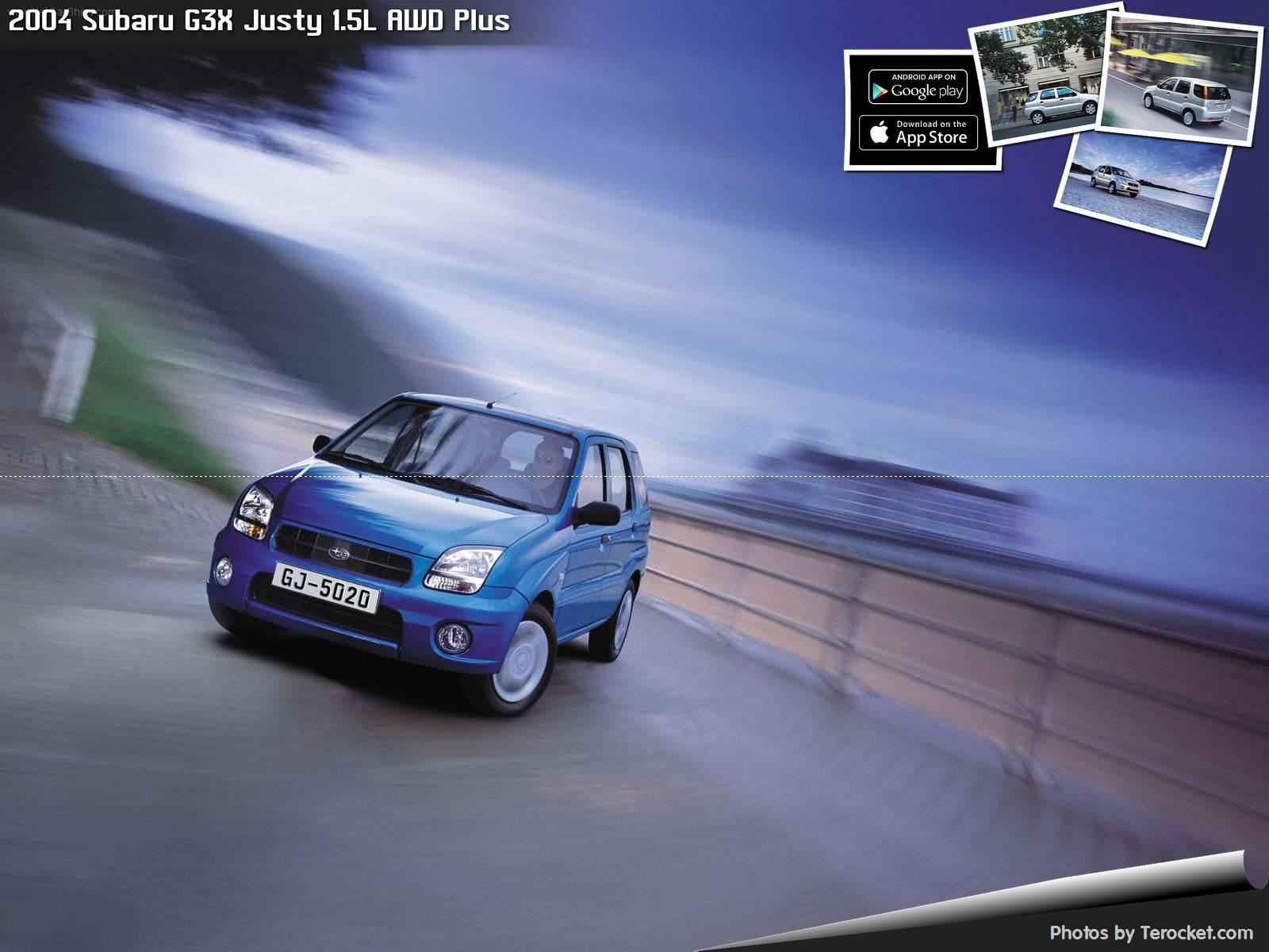Hình ảnh xe ô tô Subaru G3X Justy 1.5L AWD Plus 2004 & nội ngoại thất