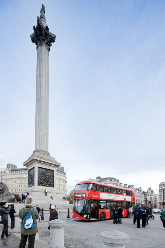 London`s new bus: a unique and elegant Design Only for London City