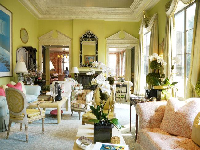 eye for design romantic chintz interiors the mario