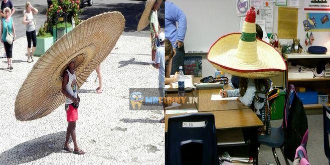 Big Hat Funny Photos