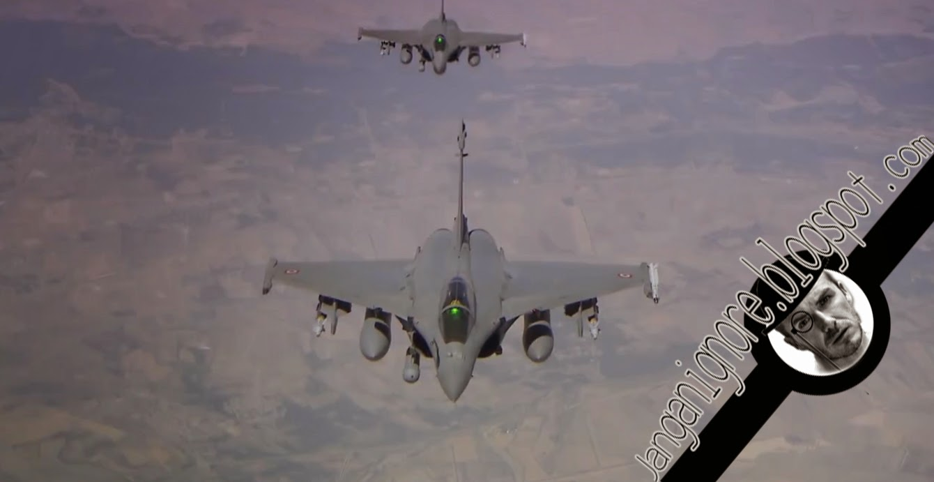 Video Jet Pejuang Perancis Menyerang ISIS