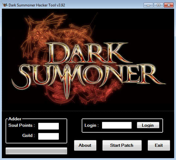Instruction use Dark Summoner - Hacker Tool :