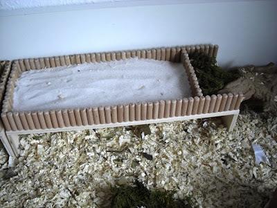 Sandbad für Hamster