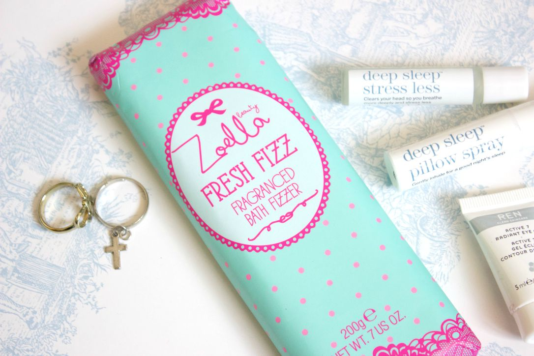 Zoella Beauty Fresh Fizz Fragranced Bath Fizzer