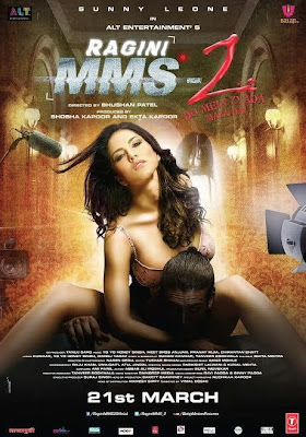 Sunny Leone sizzles in the Ragini MMS 2's new Poster