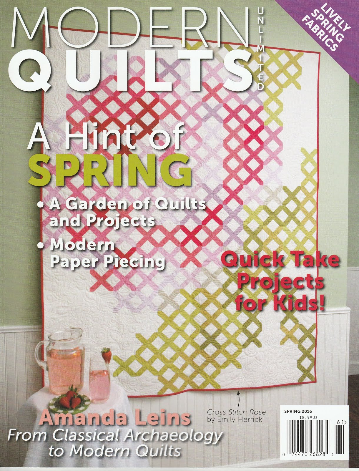 I'm in Modern Quilts Unlimited!