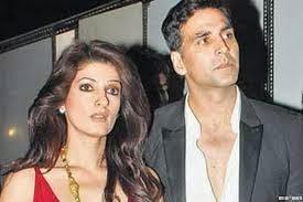 Pasangan Akshay-Twinkle