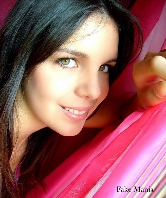 Fakes De Meninos E Meninas Fotos Olhos Verdes Azuis
