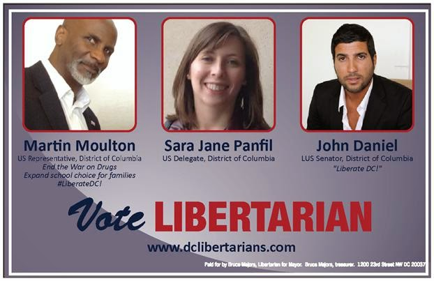 Libertarians are DC's fastest growing party