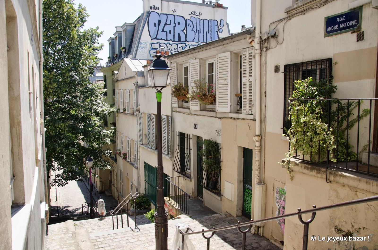 Paris - Montmartre - rue André Antoine