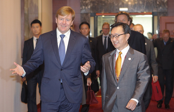 King Willem-Alexander of Netherland and Queen Maxima of the Netherlands