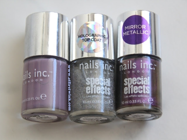 nail inc nail polishes