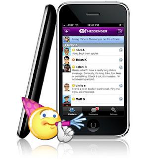 Yahoo Messenger on iPhone