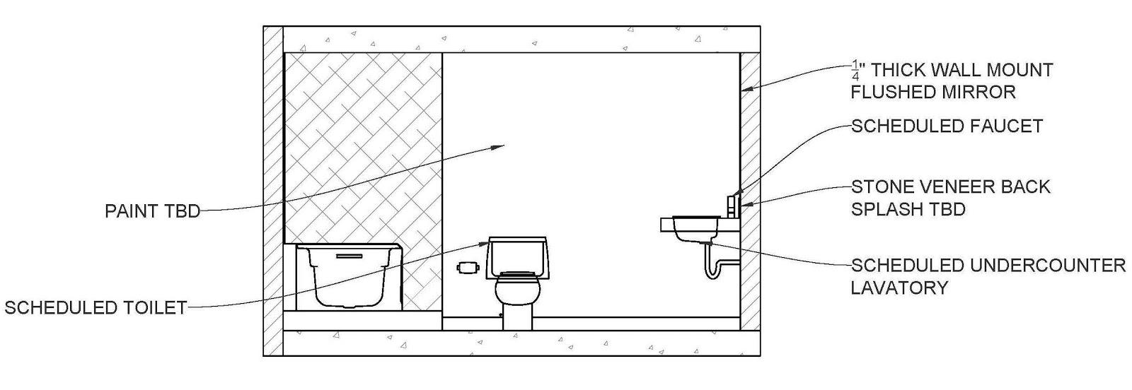 Interior architectural designs cad elevations samples for Interior elevation designs