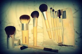 Ma commande de pinceaux maquillage Ecotools