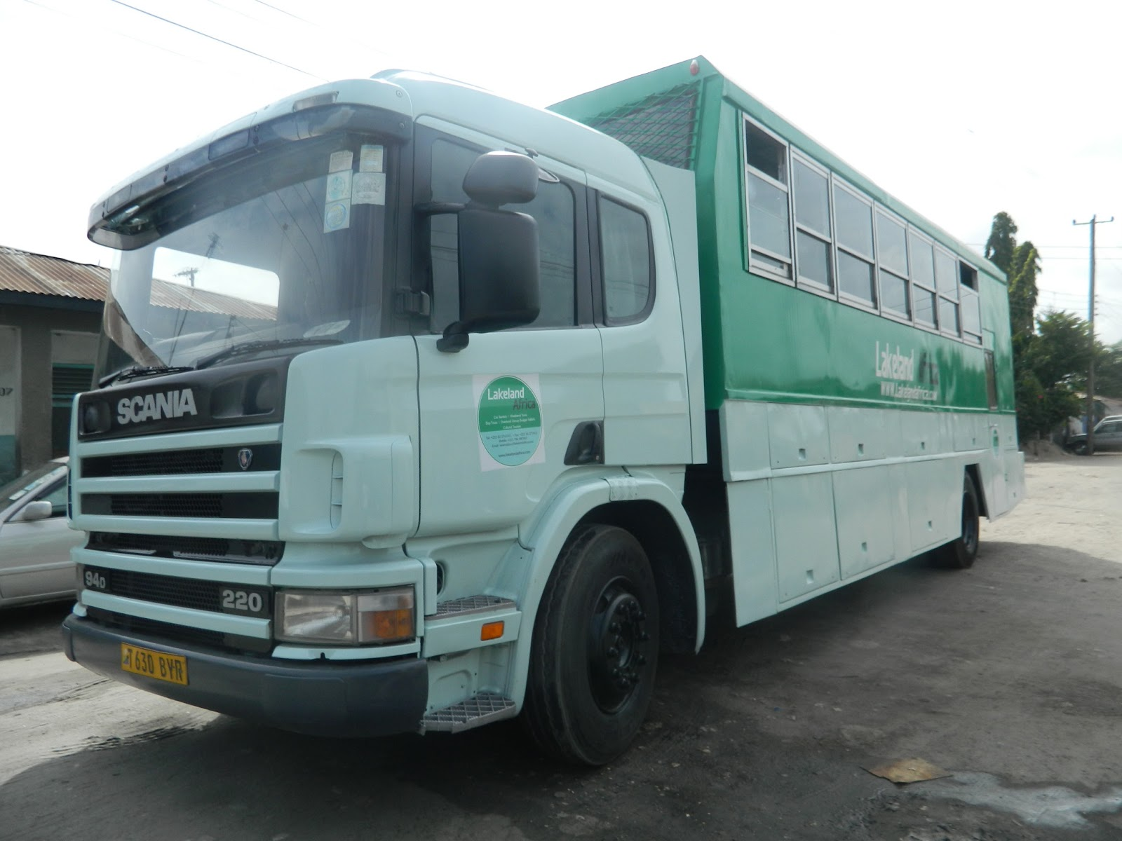 Lakeland Africa, Overland Truck