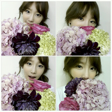Taeyeon Selca and Messages for 5th Anniversary SNSD