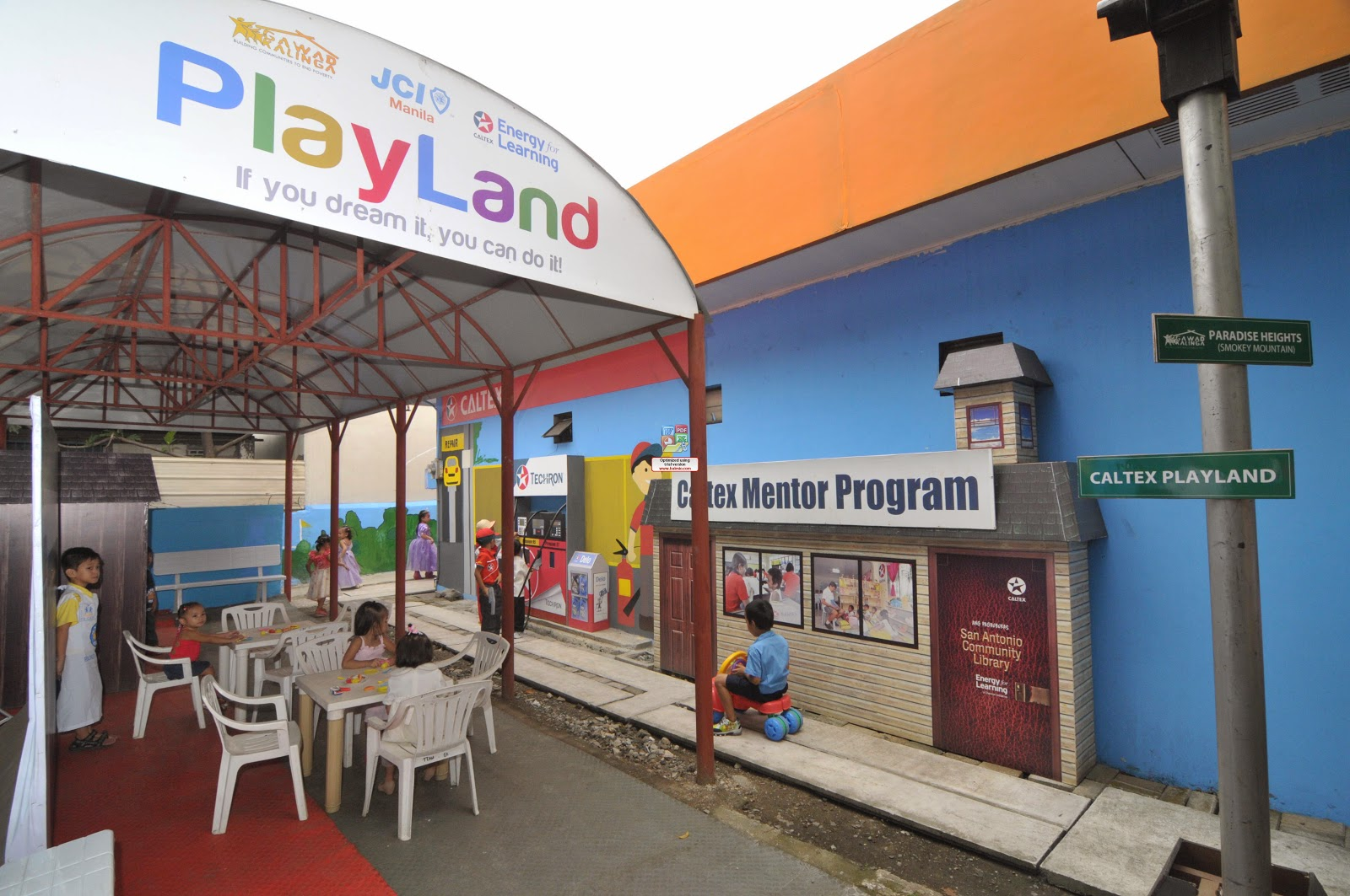 Caltex Playland in Smokey Mountain