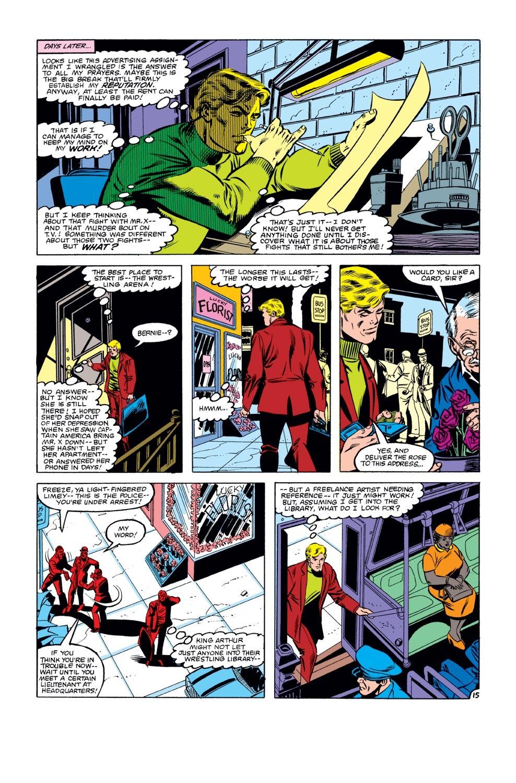 Captain America (1968) Issue #271 #187 - English 16