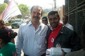 Indio Silva e Mercadante